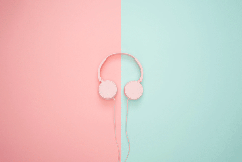 Pink Headphones U Sassy Thing